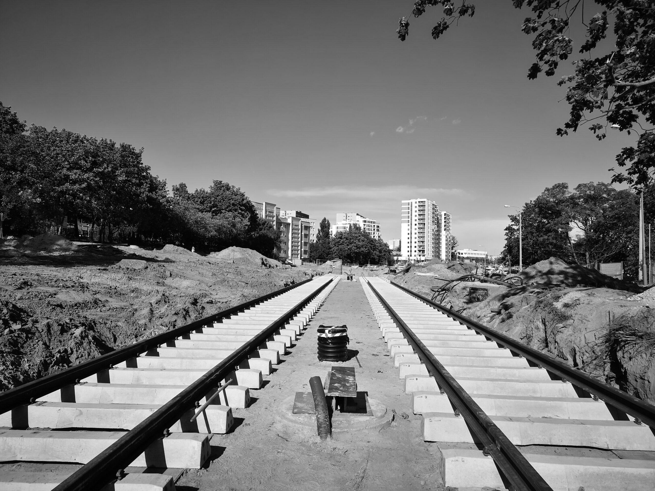firma geologiczna FGFG przebudowa pętli tramwajowej
