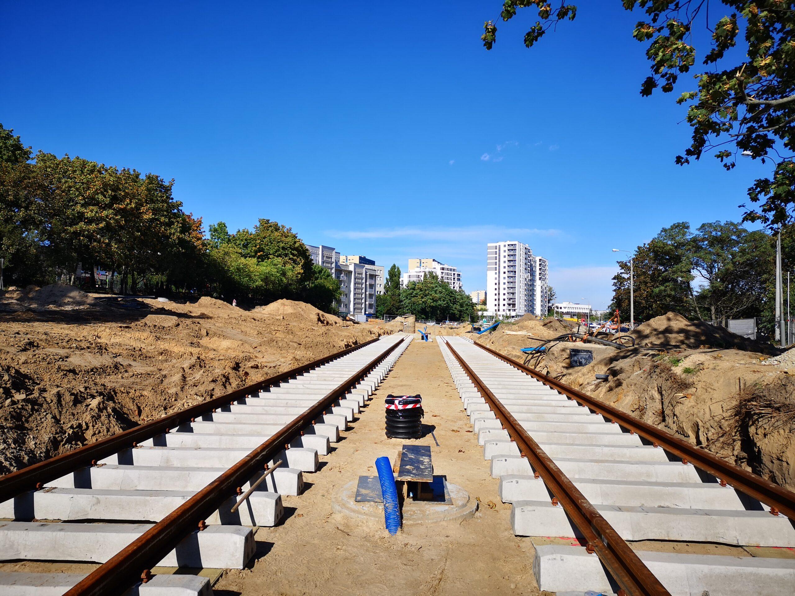 Budowa trasy tramwajowej od pętli Wilczak Naramowic oraz węzła komunikacyjnego Nowa Naramowicka w Poznaniu